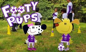 Footy Pups Series1 – Dot To Dot