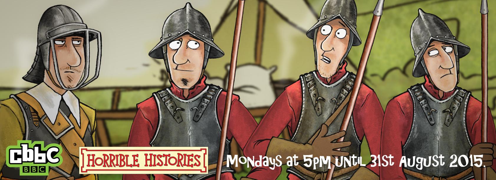 Horrible Histores® Series 6 LionTV CBBC