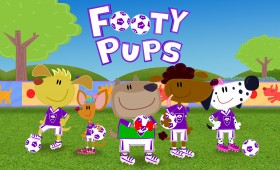 Footy Pups Series2 – Dot to Dot