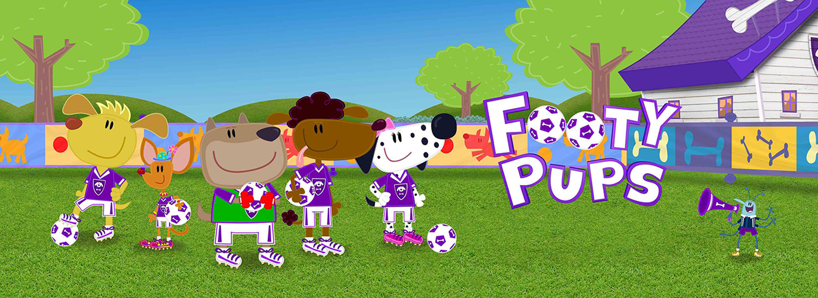 Footy Pups Series2 – Dot to Dot