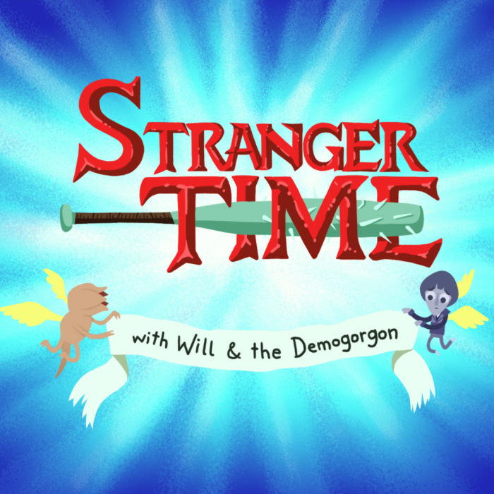 Stranger Things Adventure Time title mashup